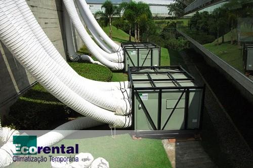 Aluguel de ar condicionado industrial