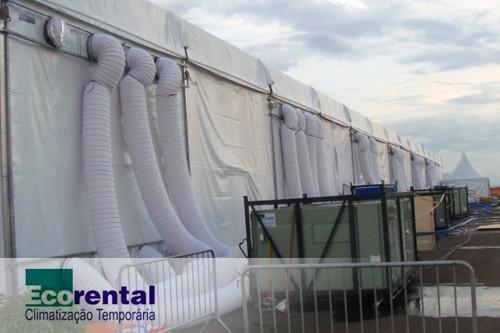 Locação de ar condicionado para eventos