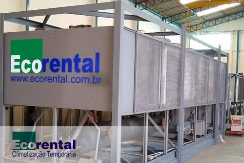 Locação de chiller industrial